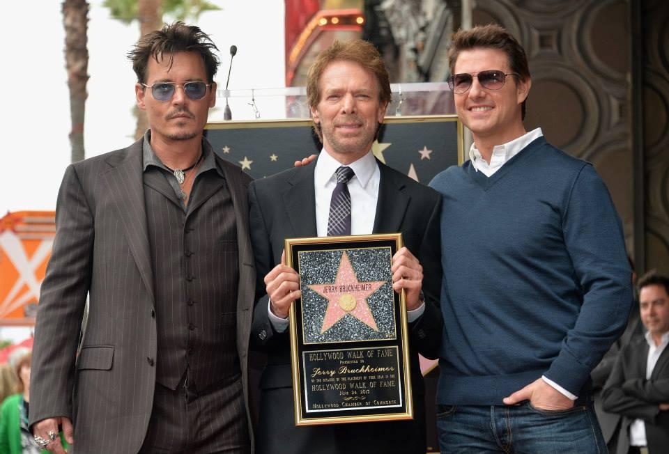 Johnny Depp - Jerry Bruckheimer - Tom Cruise