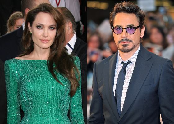 Angelina Jolie-Robert Downey Jr
