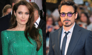 Angelina Jolie-Robert Downey Jr
