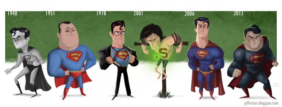 Superman's Evolution
