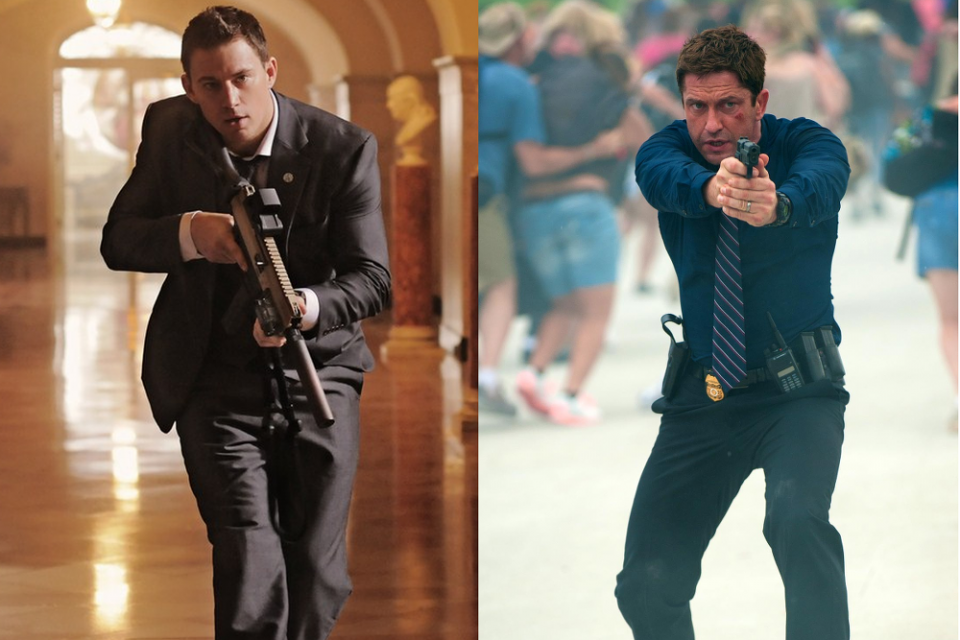 Channing Tatum-White House Down-GerardButler-Olympus Has Fallen