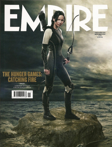 Hunger Games-Jennifer Lawrence-Katniss Everdeen-Empire
