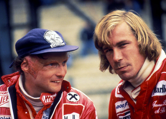 James Hunt-Niki Lauda-Rush