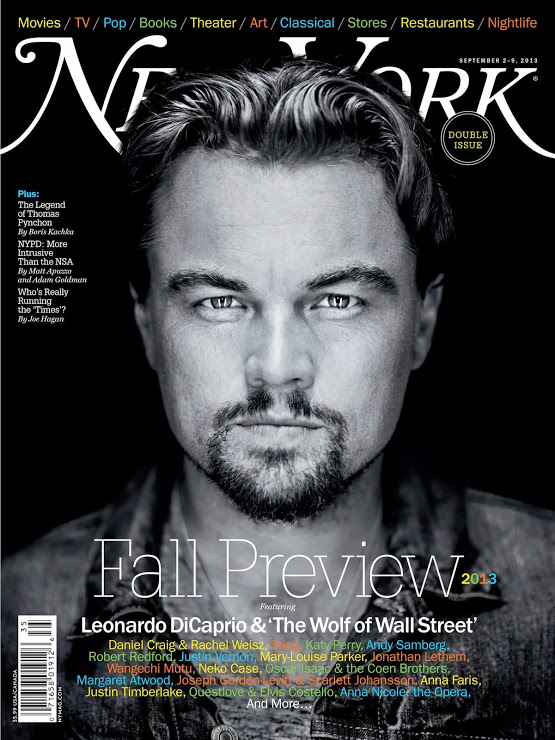 Leonardo Dicaprio-New York Magazine
