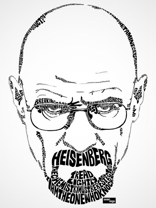 Walter White-Heisenberg-Breaking Bad-Sean Ings
