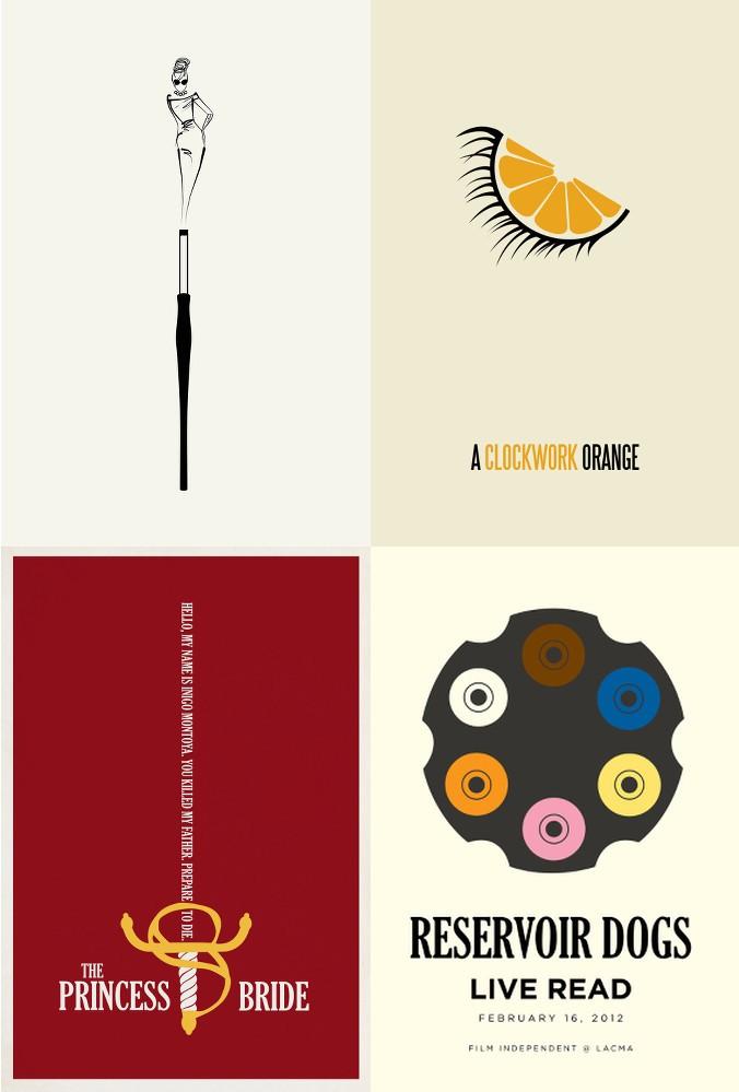 Matt Owen-Breakfast at Tiffany's-Orange Mécanique-Reservoir Dogs-The Princess Bride