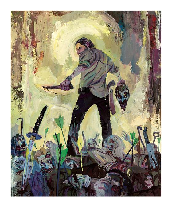 The Walking Dead-Rich Pellegrino