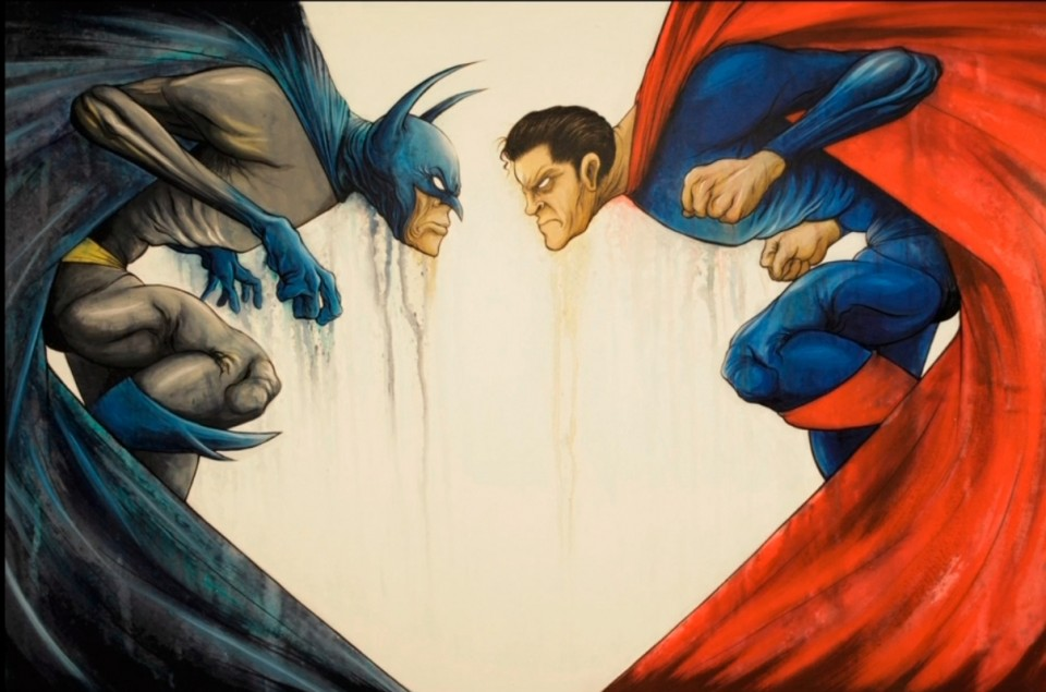 Batman vs. Superman-Alex Pardee
