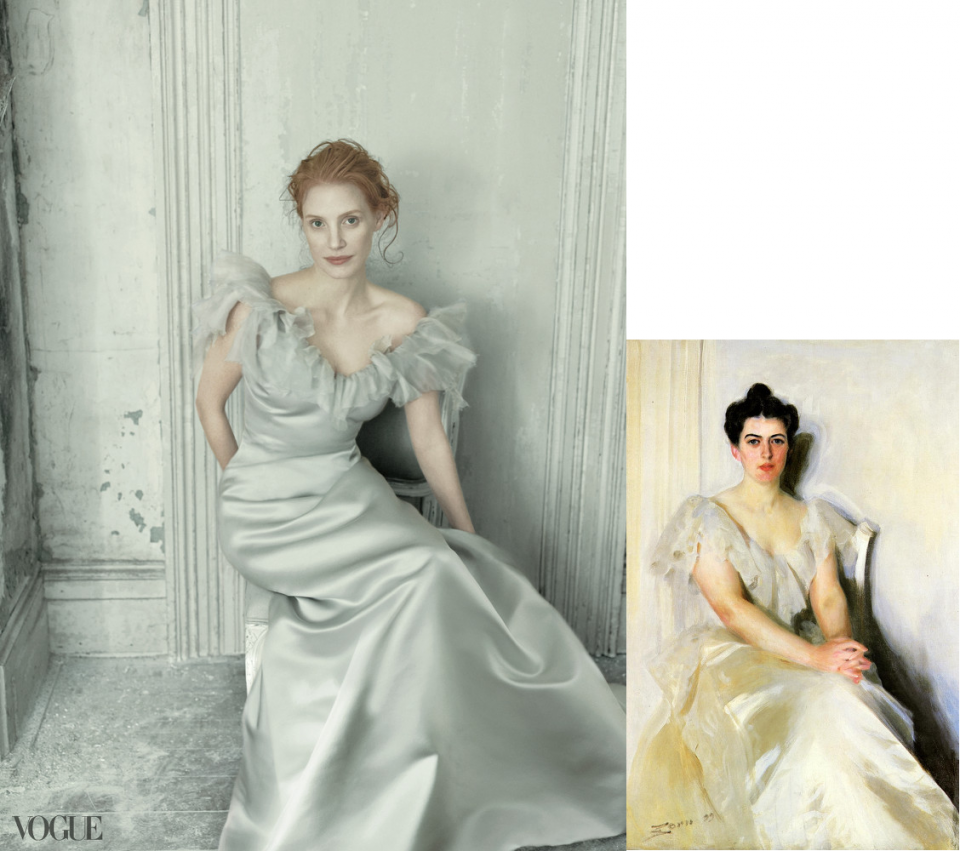 Jessica Chastain-Vogue-FolsomCleveland-Anders Zorn