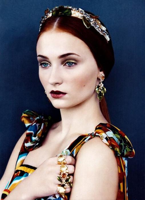 Sophie Turner-Vogue