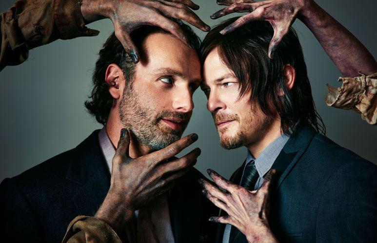 The Walking Dead-Andrew Lincoln-Norman Reedus-Atlanta Magazine