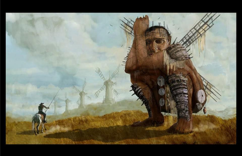 Don Quixote-Terry Gilliam