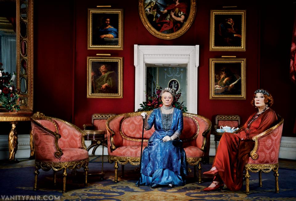 Downton Abbey-Maggie Smith-Shirley MacLaine
