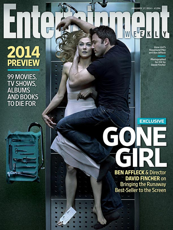 Entertainment Weekly-Ben Affleck-Rosamund Pike-Gone Girl
