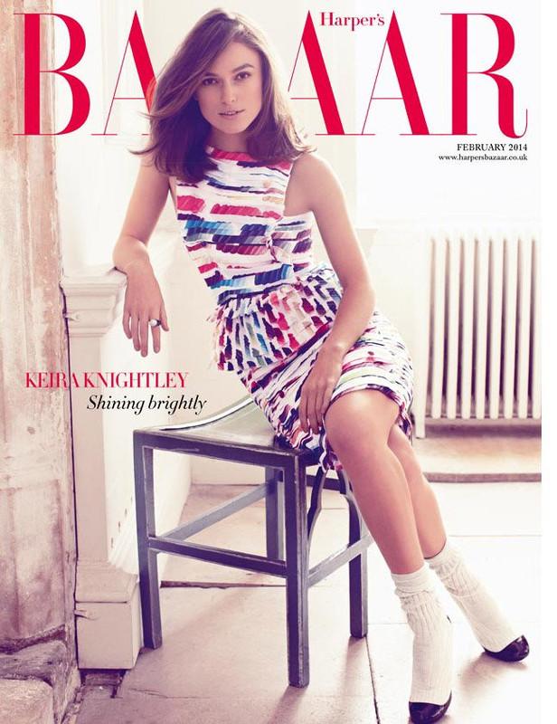 Keira Knightley-Harper's Bazaar