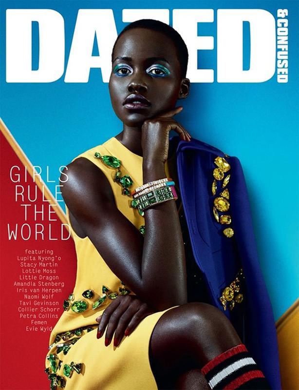 Lupita Nyong'o-Dazed & Confused