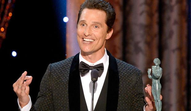 Matthew McConaugheySAGAwards2014