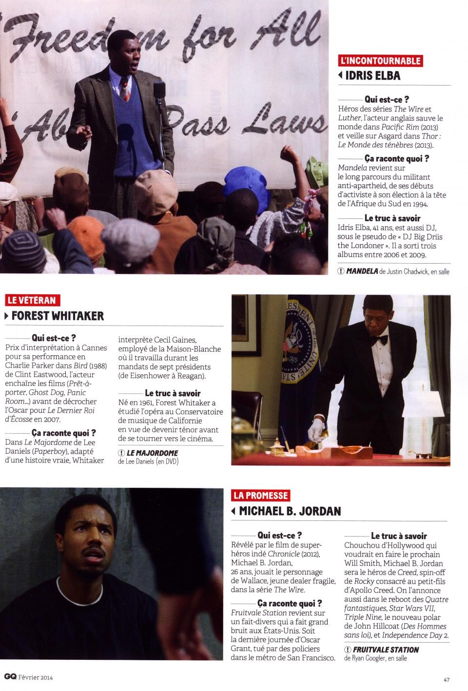 Oscars 2014 - L'Année du Black Power ?2