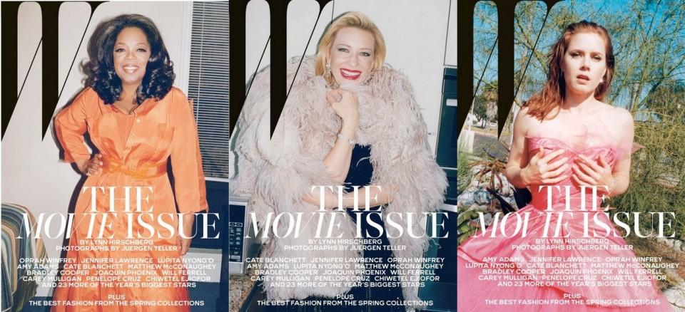 W Magazine-Amy Adams-Cate Blanchett-Oprah Winfrey