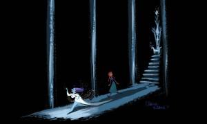 Claire Keane-La Reine des neiges1-1