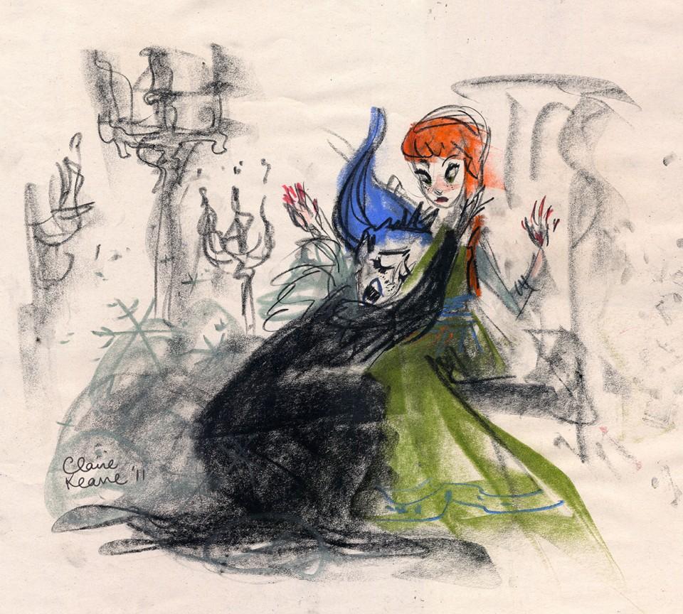 Claire Keane-La Reine des neiges10