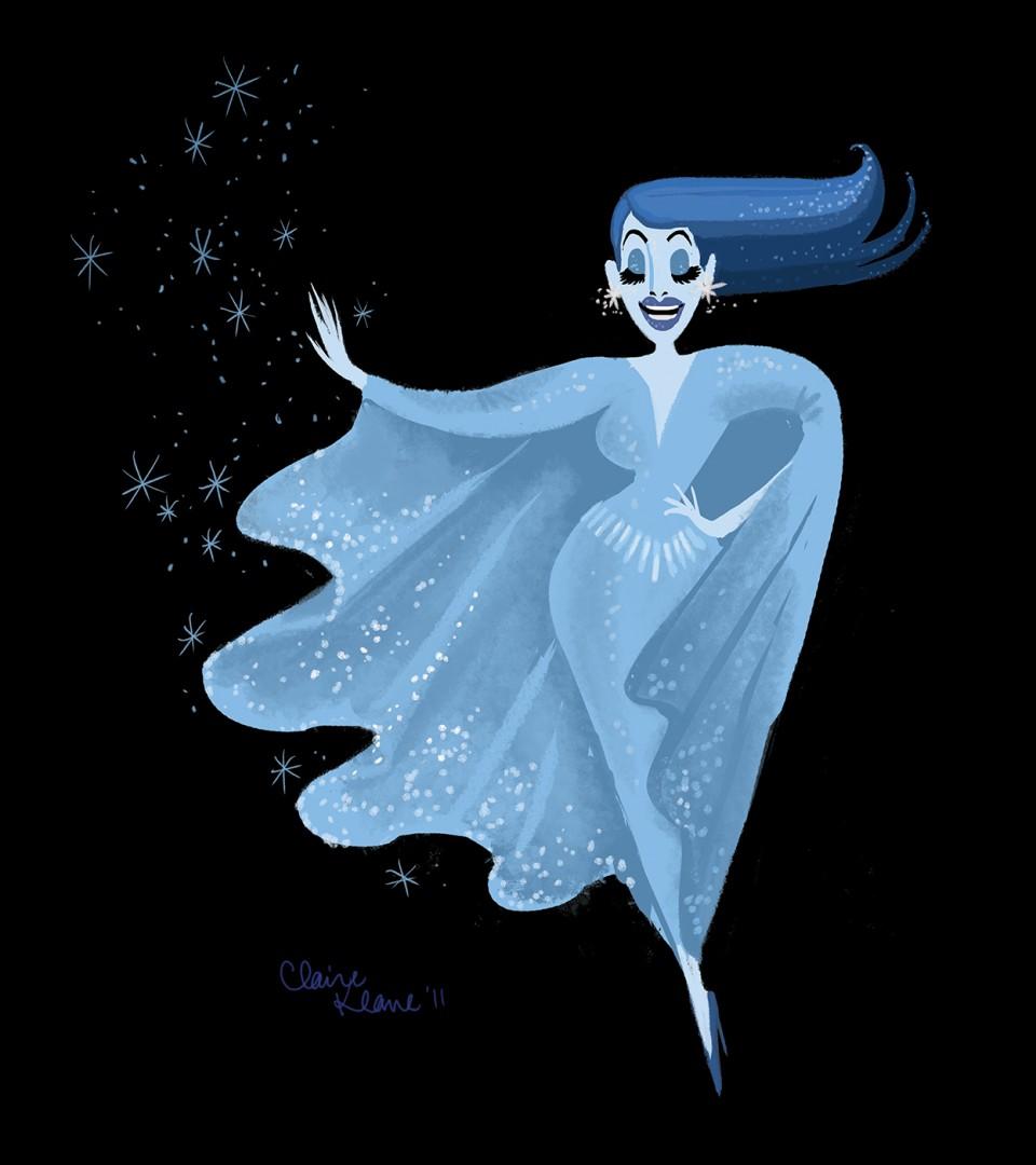 Claire Keane-La Reine des neiges2