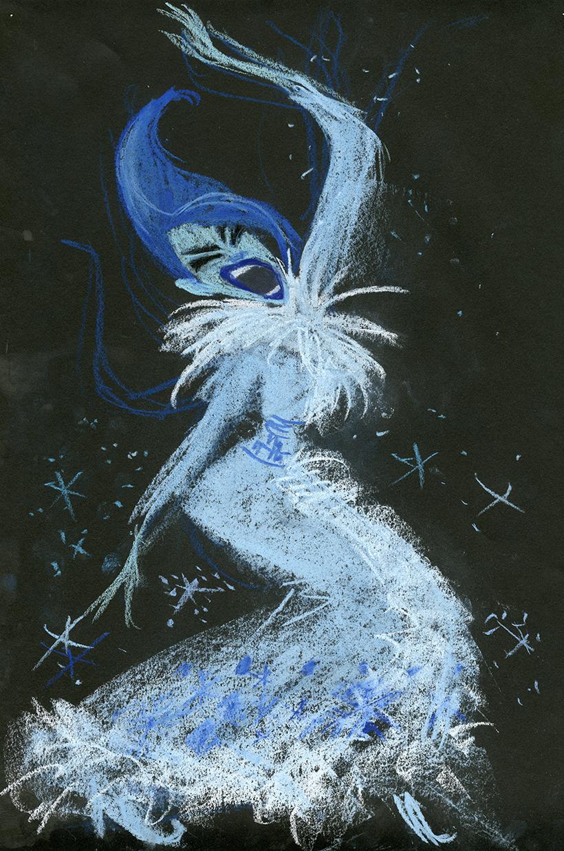 Claire Keane-La Reine des neiges8