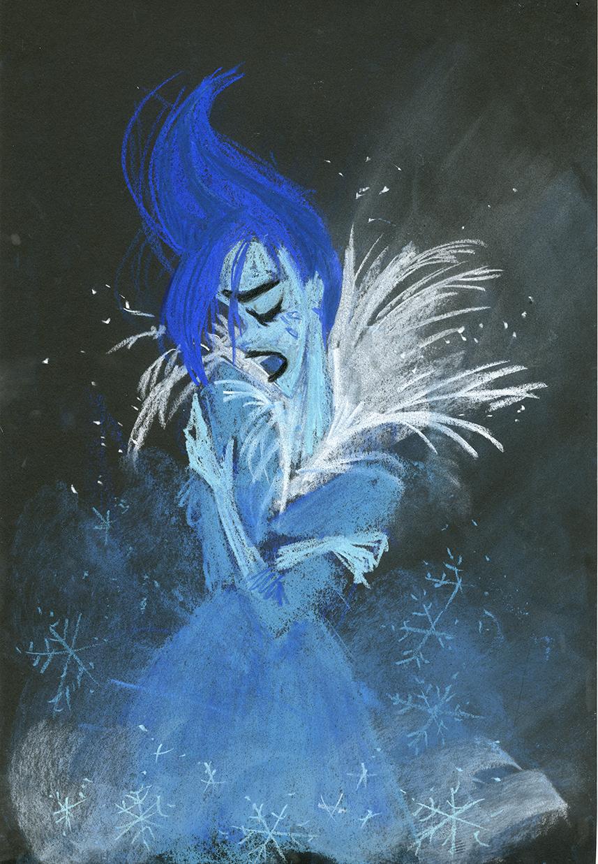 Claire Keane-La Reine des neiges9