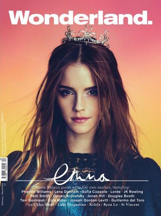 Emma Watson-Wonderland1