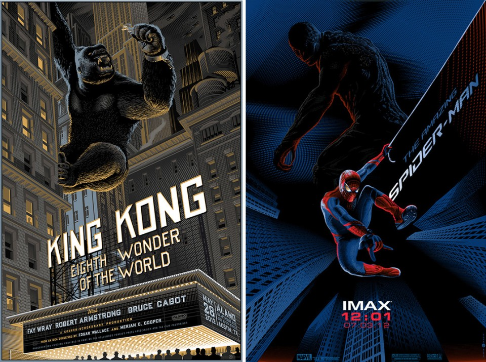 Laurent Durieux-King Kong-Spider-Man