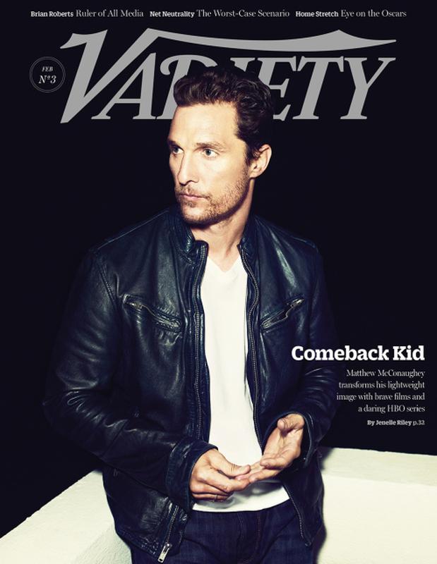 Matthew McConaughey-Variety