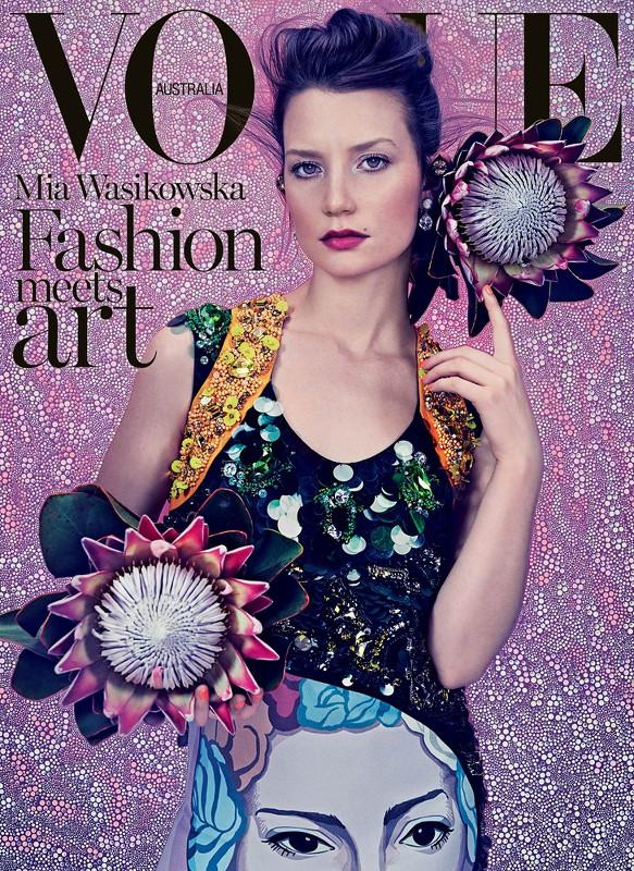 Mia Wasikowska-Vogue Australie