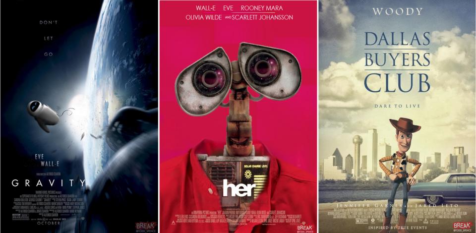 Todd Spence-Pixar-Dallas Buyers Club-Gravity-Her