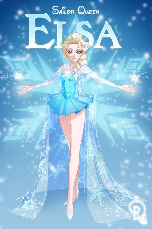Drachea Rannak-La Reine des neiges-Elsa