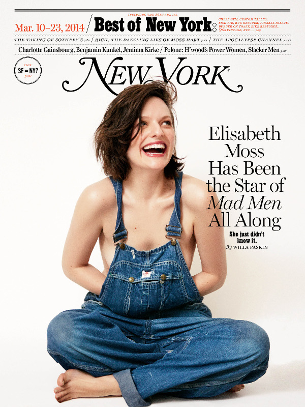Elisabeth Moss-New York Magazine