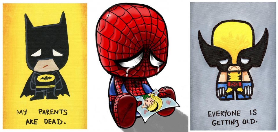 JSalvador-Batman-Spider-Man-Wolverine