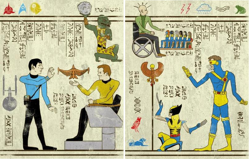 Josh Lane-Star Trek-X-Men