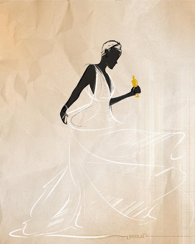 Lupita Nyong'o-Nikkolas Smith