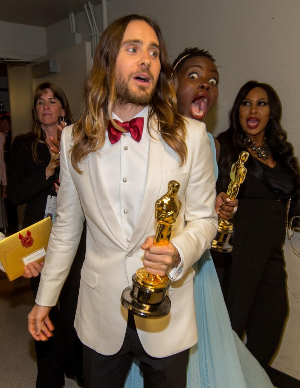 Oscars-Lupita-Jared