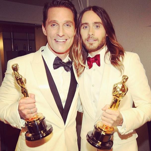 Oscars-Matthew McConaughey-Jared Leto