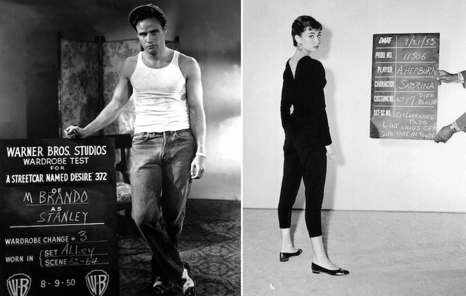 Costumes-Marlon Brando-Un tramway nommé désir-Audrey Hepburn-Sabrina