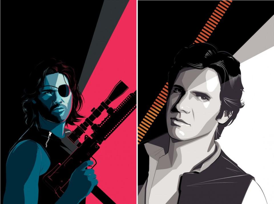 Han Solo-Snake Plissken