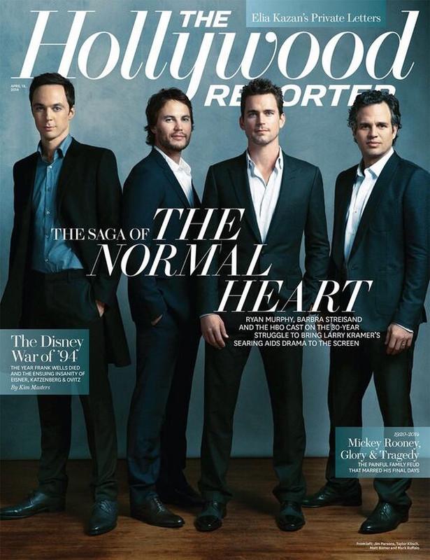 Jim Parsons-Taylor Kitsch-Mark Ruffalo-Matt Bomer-The Normal Heart-The Hollywood Reporter