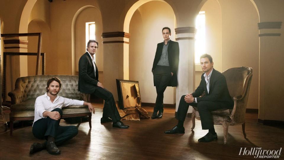 Jim Parsons-Taylor Kitsch-Mark Ruffalo-Matt Bomer-The Normal Heart-The Hollywood Reporter2