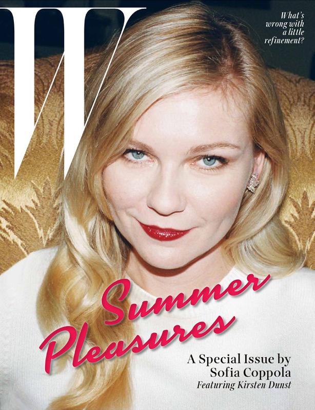 Kirsten Dunst-W Magazine