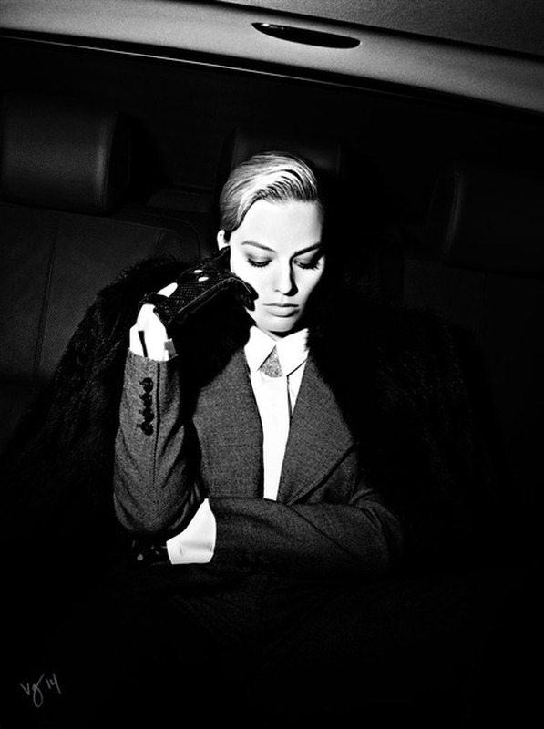 Margot Robbie-Violet Grey
