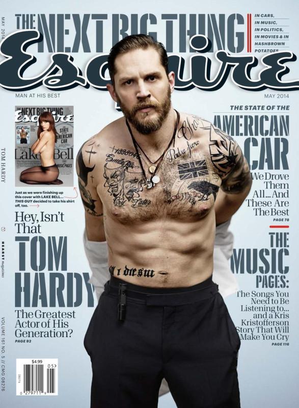 Tom Hardy-Esquire
