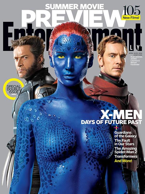 X-Men-Entertainment Weekly