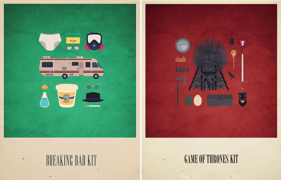 Alizée Lafon-Breaking Bad-Game of Thrones