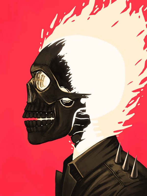 Ghost Rider-Mike Mitchell